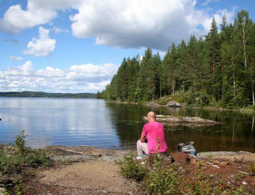 Op stap langs mijnen en meren bij Gräsmark, Värmland