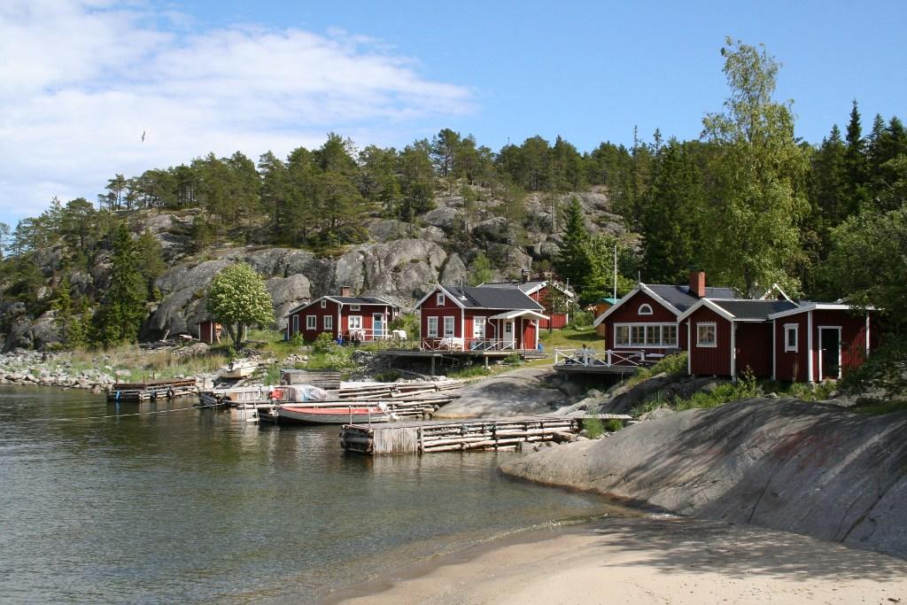 Lerviken: 'Bolderburen' in Västernorrland, Noord-Zweden