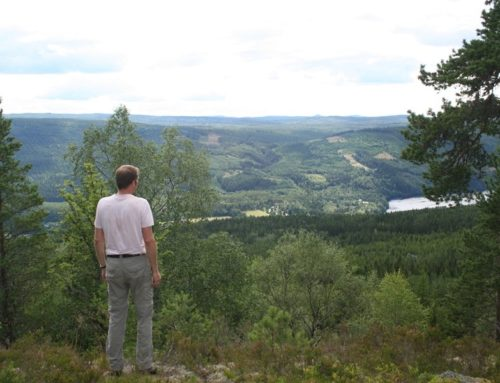 Alleen op de wereld in Sysslebäck, Noord-Värmland