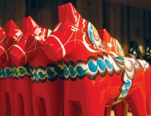 Echte paarden komen uit Dalarna